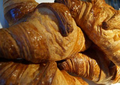 Croissants Nahaufnahme